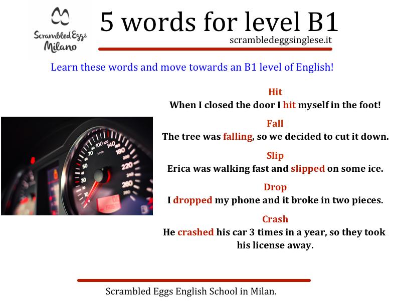 5 parole per raggiungere il livello B1 in inglese