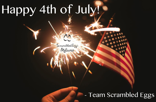 Happy 4th of July from Scrambled Eggs