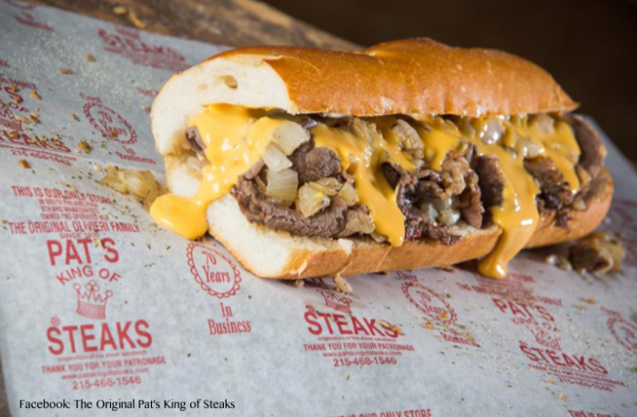 ESL Reading Exercise: The Philadelphia Cheesesteak