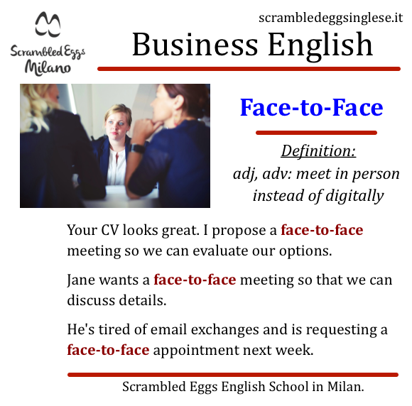 Impara Business English a Milano