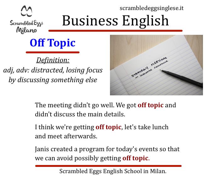 Business English corsi inglese Milano