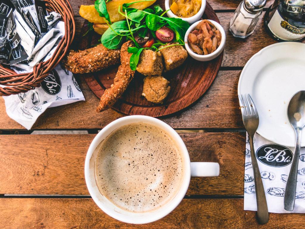 Cappuccino, pranzo, inglese, Milano