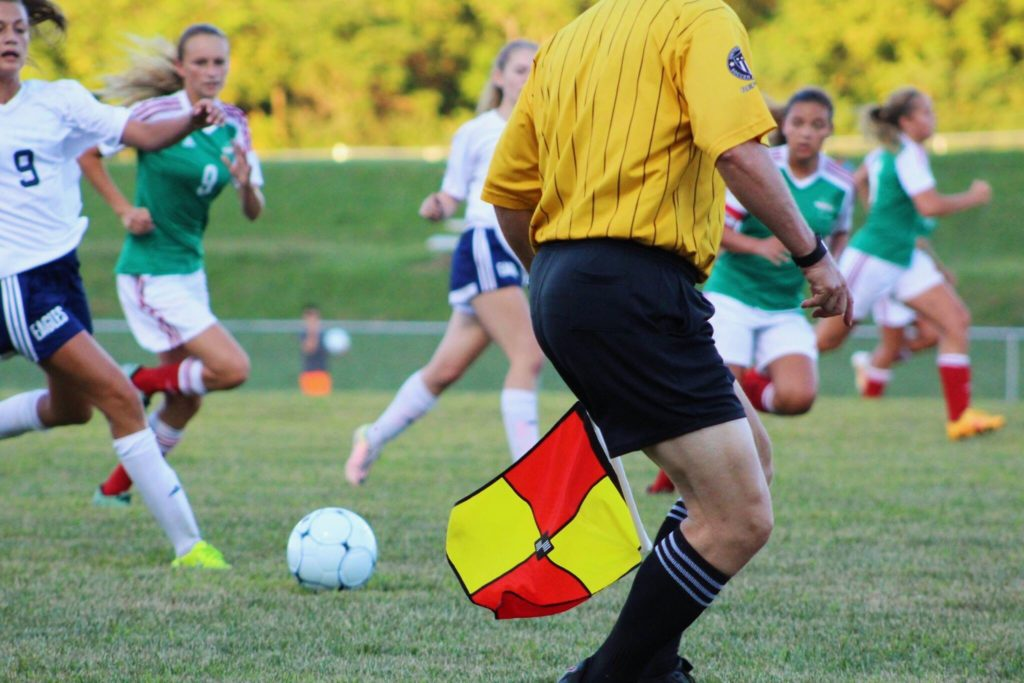 arbitro, calcio inglese mondiali 2018