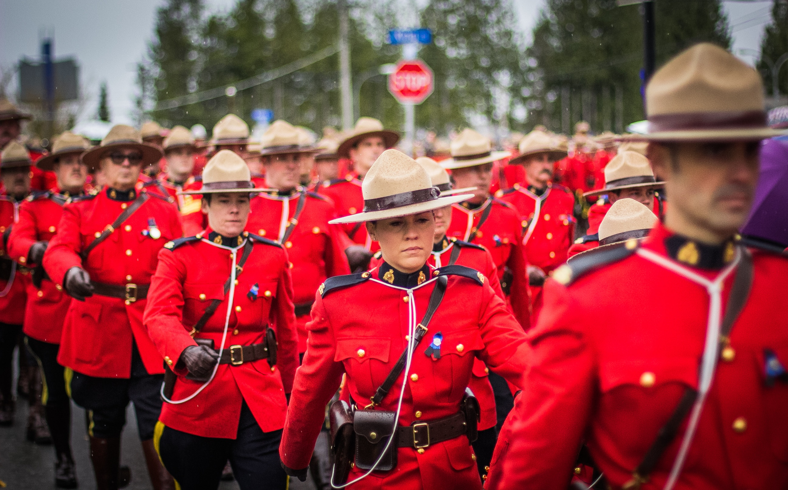 Mounties-Canada-Uniforms-Marching-Photo-Difficult-Accent-Language-Learning