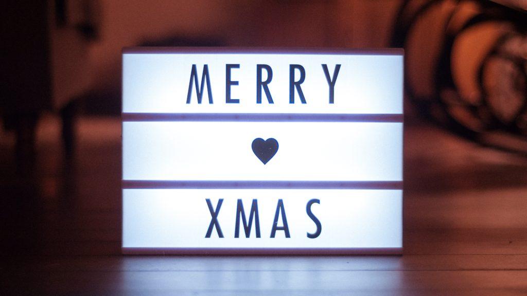 Milano scuola di inglese Christmas decorations