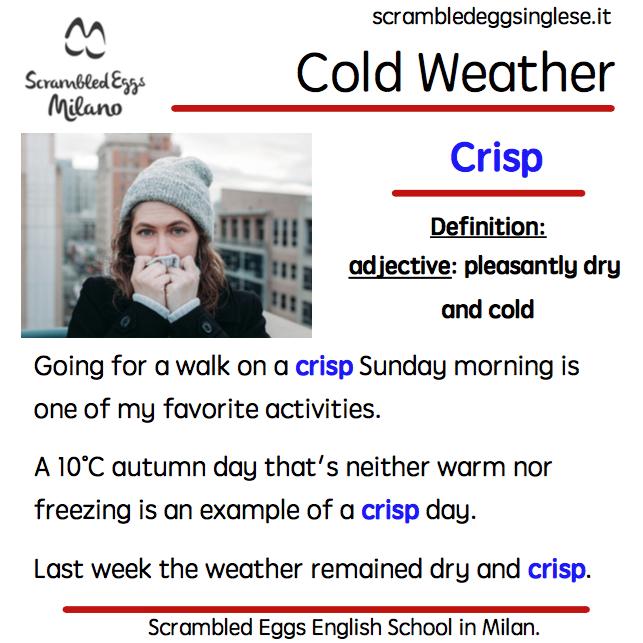 Crisp winter morning