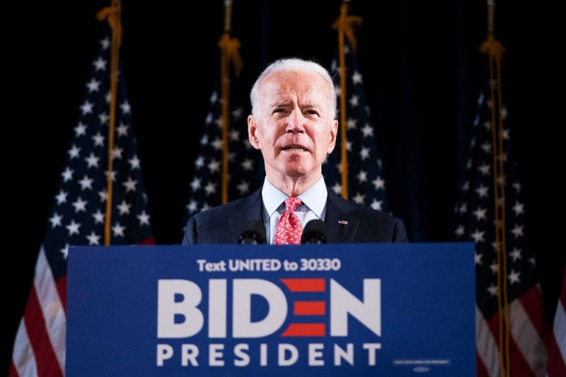 Learn English with the News – Joe Biden campaign online