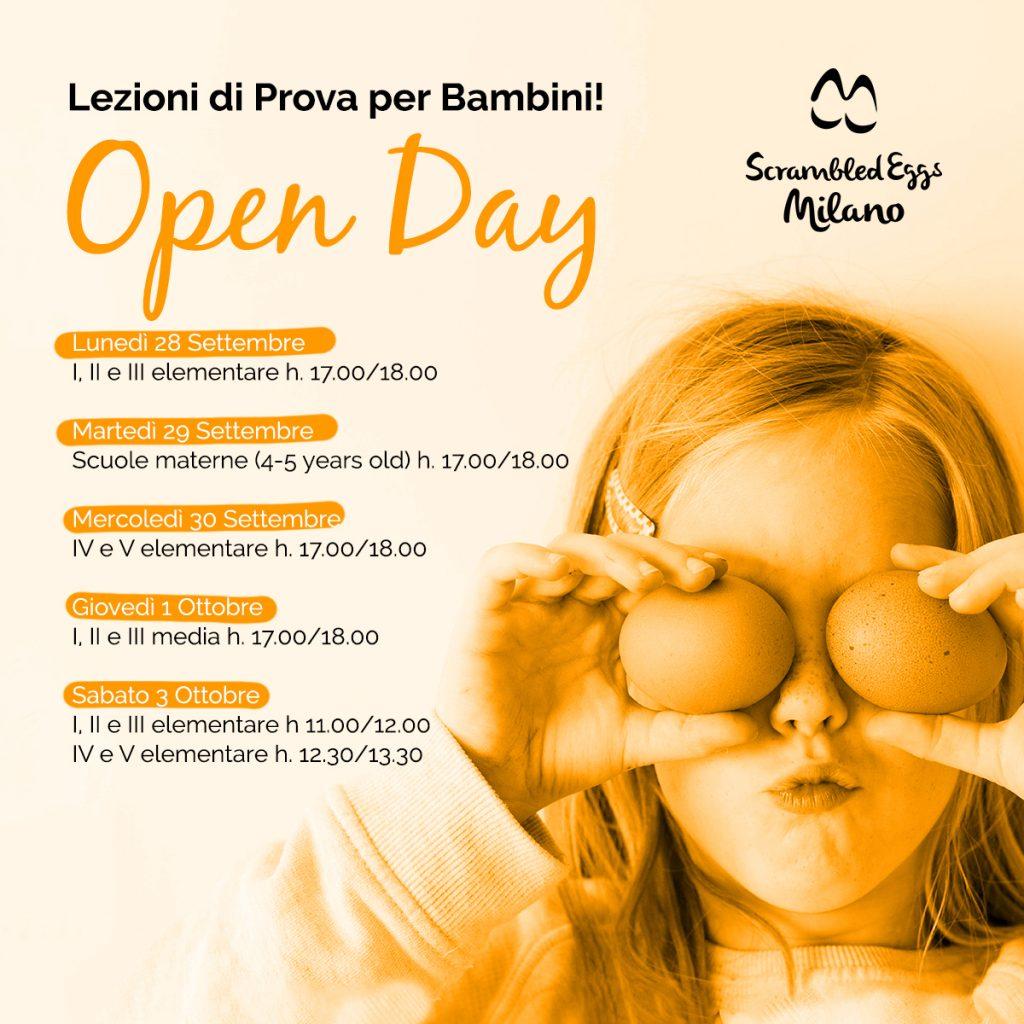 Inglese per Bambini a Milano